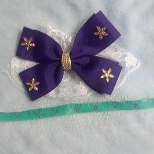 Handmade girls bow